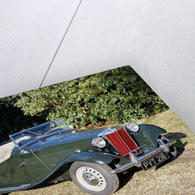 1951 MG TD by Unknown