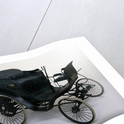 1898 Benz Velo 3hp car by Unknown