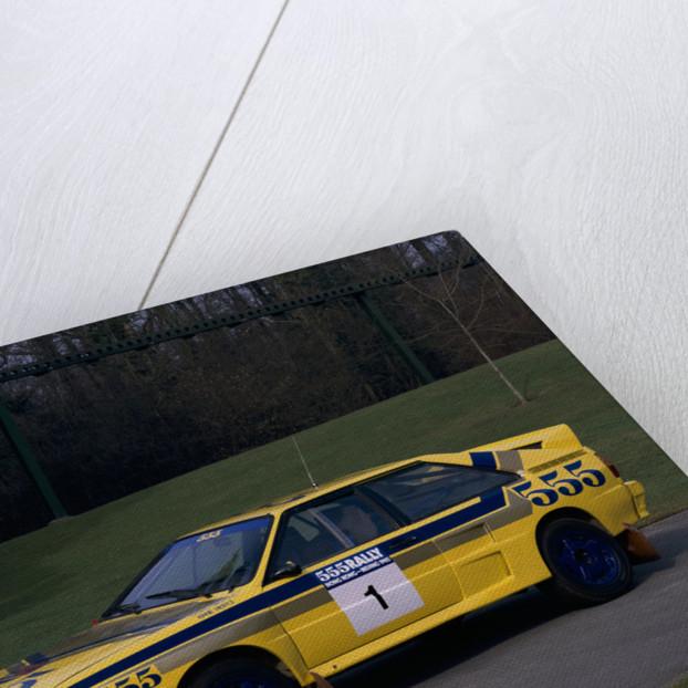 1985 Audi Quattro A2 car by Unknown