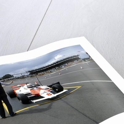 Andrea de Cesaris in a McLaren-Cosworth MP4 by Anonymous