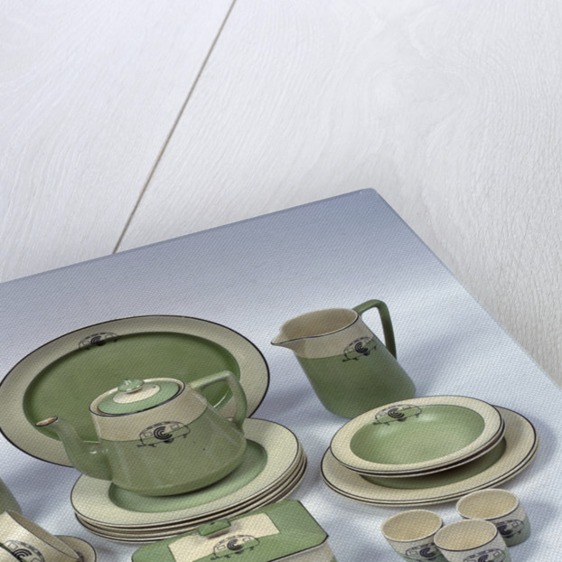 A caravan crockery set by Anonymous & A caravan crockery set posters \u0026 prints by Anonymous