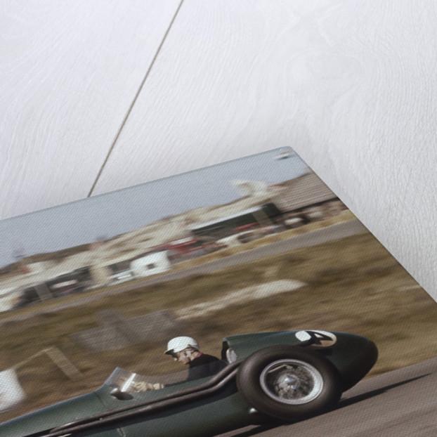Roy Salvadori driving an Aston Martin DBR4 by Anonymous