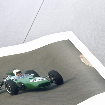 Bob Anderson driving a Brabham Climax by Anonymous