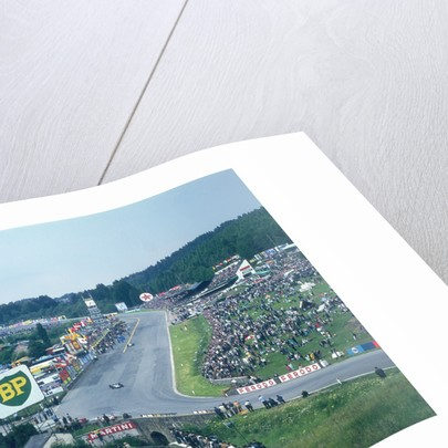 Part of Spa-Francorchamps race track by Anonymous