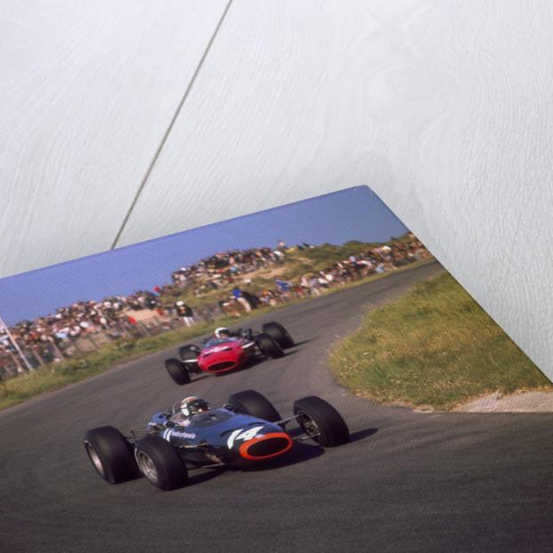 Jackie Stewart in a BRM, at the Dutch Grand Prix, Zandvoort, Holland, 1966 by Unknown