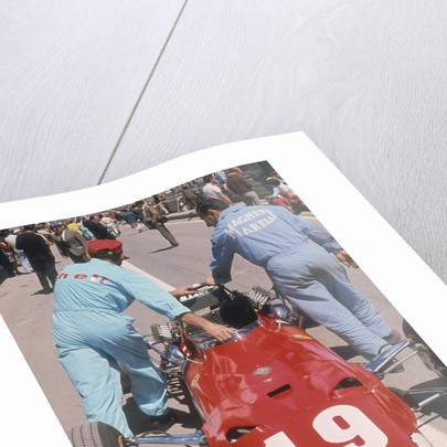 Ferrari of Chris Amon at the Spanish Grand Prix by Anonymous