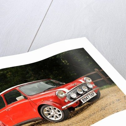 Rover Mini Cooper works 1998 by Simon Clay