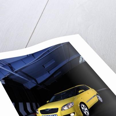 SKODA Fabia 2007 by Simon Clay
