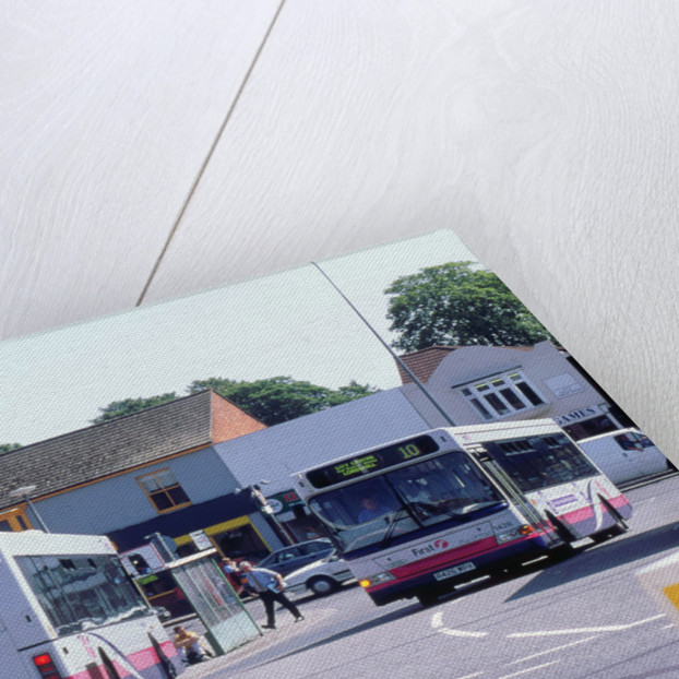 Bus Stop in Southampton by Unknown