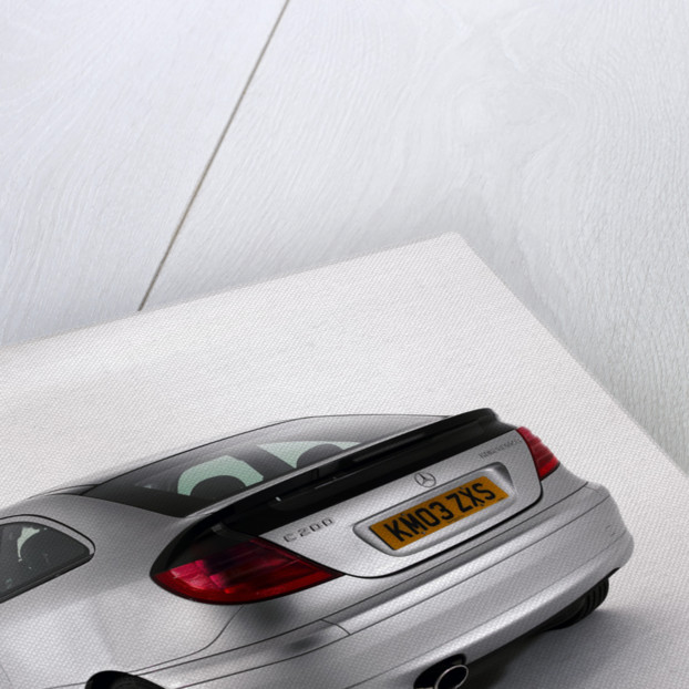 2003 Mercedes Benz C200k Coupe by Unknown