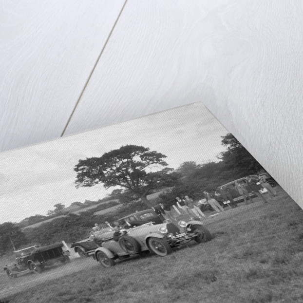 Bugatti Type 43 and 44 taking part in the Bugatti Owners Club gymkhana, 5 July 1931 by Bill Brunell