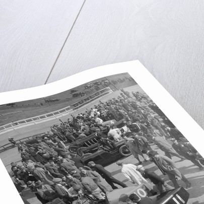 BARC meeting, Brooklands, 1930 by Bill Brunell