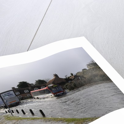 Floods at Beaulieu 2008 by Unknown