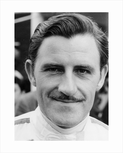 Graham Hill, 1968 by Unknown