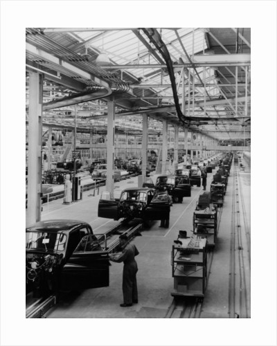 Daimler factory by Anonymous