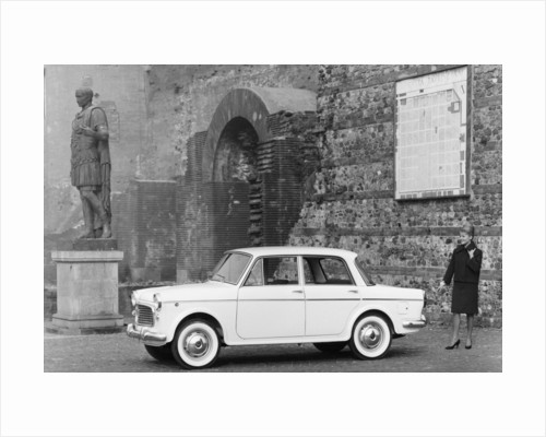 1963 Fiat 1100 Speciale, 1960s by Unknown