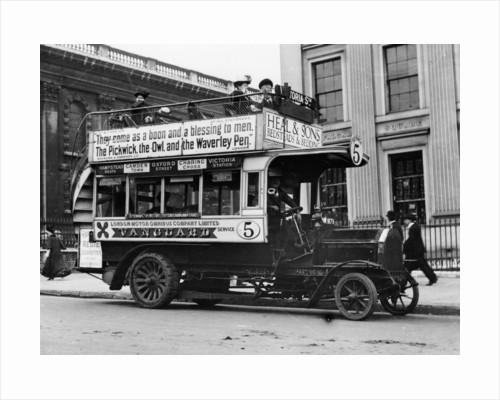 1909 Milnes Daimler bus by Anonymous
