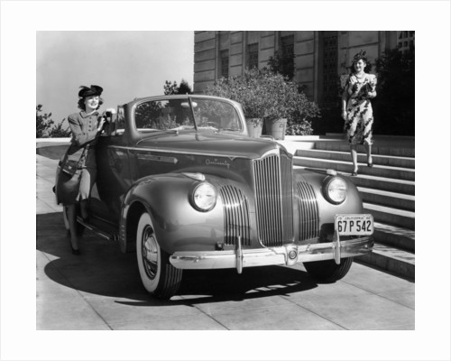1941 Packard 120 convertible coupe by Anonymous