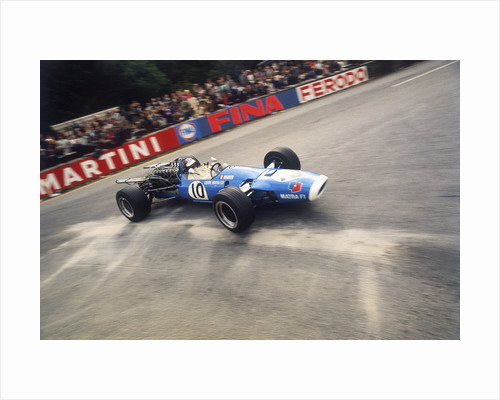 Jean-Pierre Beltoise driving a Matra by Anonymous