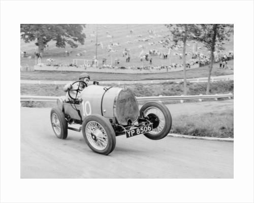 Bugatti T13 Brescia in action by Anonymous