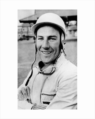 Stirling Moss, (1950s?) by Unknown