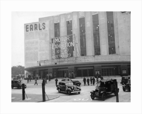 Earls Court Motor Exhibition by Anonymous