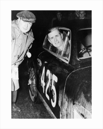 Tommy Wisdom, winner of the Grand Turismo Class of the Mille Miglia by Anonymous