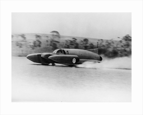 Bluebird K7 on Coniston Water by Anonymous