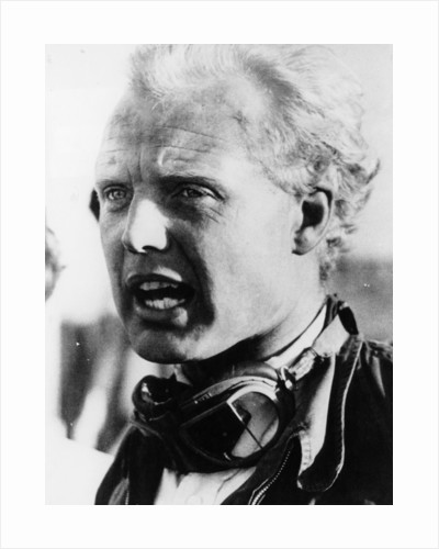 Mike Hawthorn, racing driver, mid-1950s by Unknown