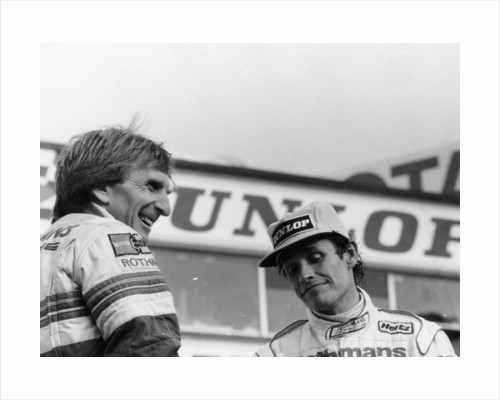 Derek Bell and Jacky Ickx by Anonymous