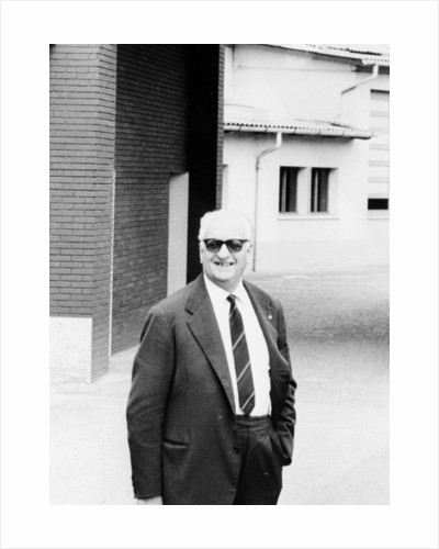 Enzo Ferrari, (1960s?) by Unknown