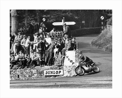 Ultra-Lightweight TT race, Isle of Man, 1966 by Unknown