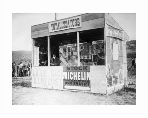 The Tote stand, Targa Florio race by Anonymous