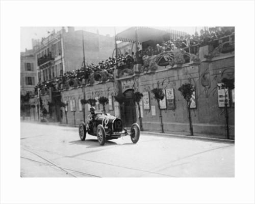 William Grover-Williams in a Bugatti 35B, in the Monaco Grand Prix by Anonymous