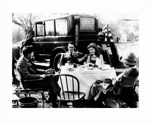 A motoring picnic by Anonymous