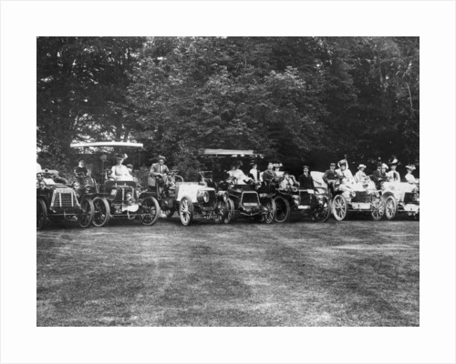 An early motor meet by Anonymous