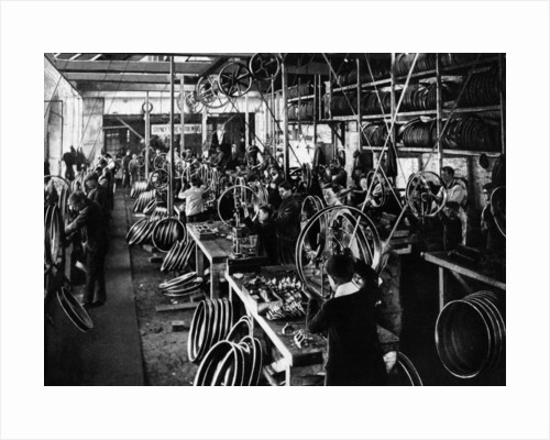 Stepney wheel factory by Unknown