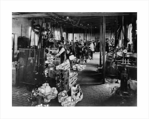 Interior of the Iris works by Anonymous