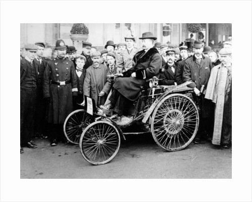 1896 Arnold car by Anonymous