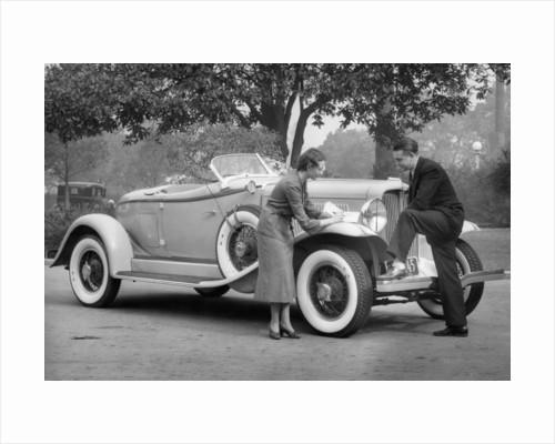 Auburn car by Anonymous