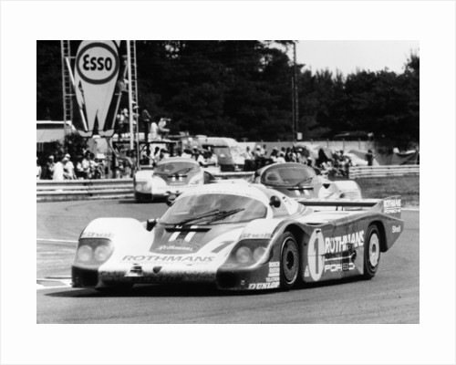 Porsche 956 driven By Jacky Ickx and Derek Bell by Anonymous