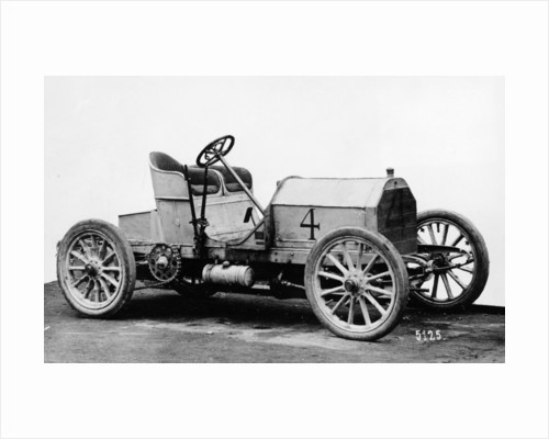 Mercedes 60 hp racing car by Anonymous