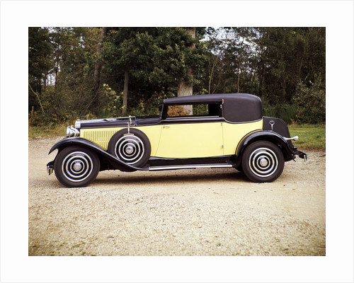 1928 Hispano-Suiza by Anonymous