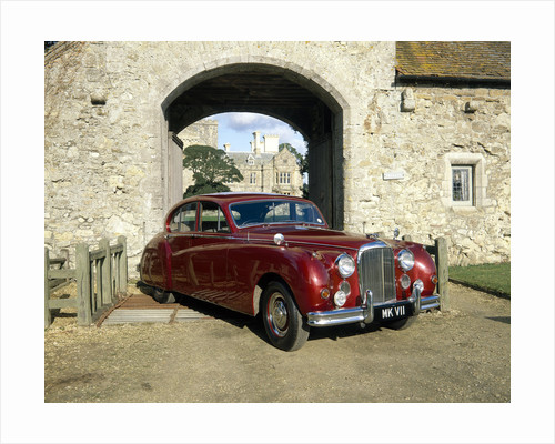 Jaguar Mk IX formerly owned by HM Queen Elizabeth, the Queen Mother by Anonymous