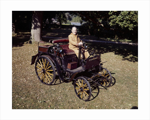 1898 Benz 3hp car by Unknown