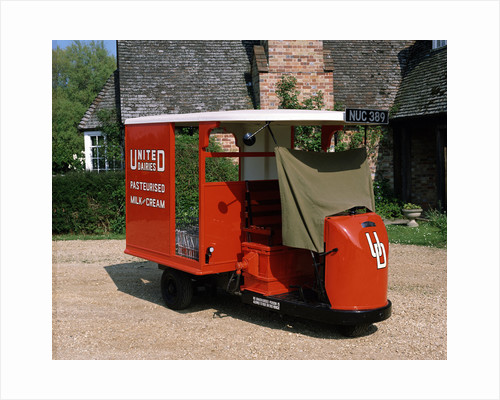 1947 Brush Pony Electric Milk Float by Anonymous