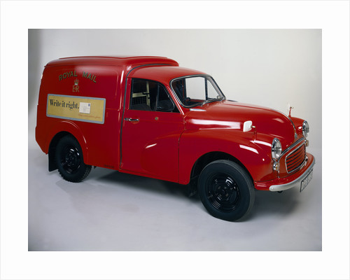 A 1970 Morris Minor 1000 Post Office van by Anonymous