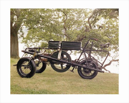An 1896 Pennington motor-tricycle by Anonymous