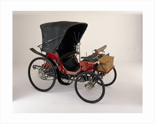 An 1894 Peugeot 3.5hp by Anonymous
