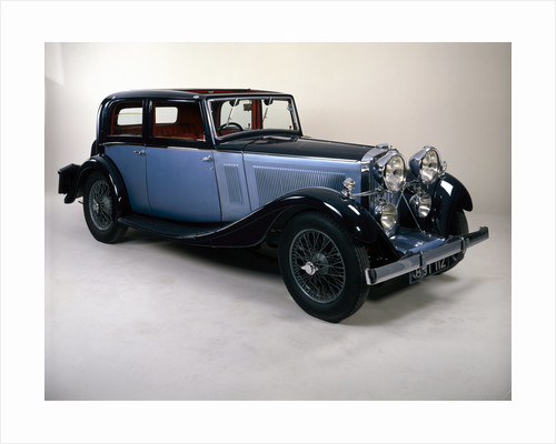 A 1934 Talbot 105 by Anonymous